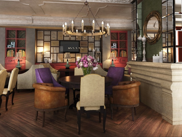дизайн проект интерьера ресторана отеля ночного клуба