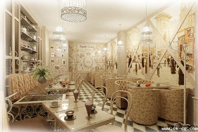 кондитерская кафе париж ровно консалтинг дизайн интерьера украина
