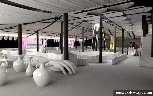 дизайн проект ночного клуба
