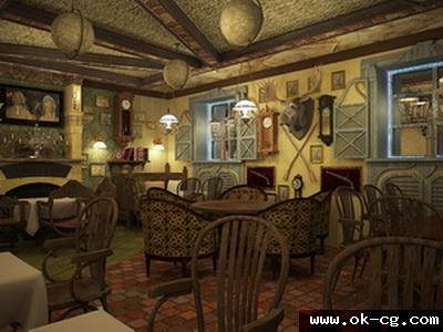 пивной ресторан мюнхгаюзен Bierstube тернополь консалтинг дизайн интерьера паба украина