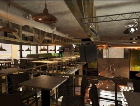 пивной ресторан паб beer dance харьков консалтинг дизайн проект бара украина