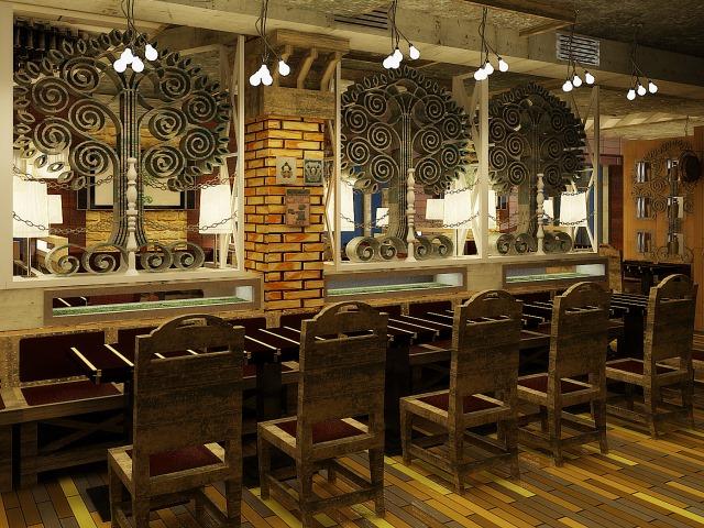 ресторан паб пивной сад киев консалтинг дизайн проект бара